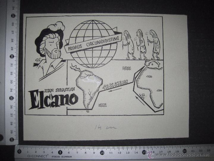 Cómics: ORIGINAL A TINTA - CLLO - CARBONELL - ELCANO - (V- 4303) - Foto 3 - 54351004