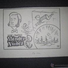 Cómics: ORIGINAL A TINTA - CLLO - CARBONELL - MENDEZ NUÑEZ - (V- 4304). Lote 54351031