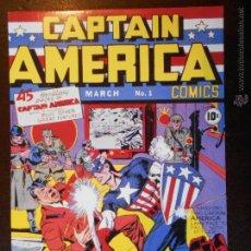 Fumetti: TARJETA POSTAL CAPTAIN AMERICA CAPITAN AMERICA (7C). Lote 165086120