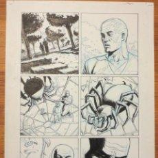 Cómics: PAGINA ORIGINAL G.I. JOE DE ATILIO ROJO ORIGINAL ORIGINAL COMIC ART PAGE. Lote 54450541