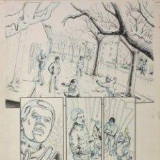 Cómics: PAGINA ORIGINAL G.I. JOE DE ATILIO ROJO ORIGINAL ORIGINAL COMIC ART PAGE. Lote 54450633