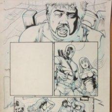 Cómics: PAGINA ORIGINAL G.I. JOE DE ATILIO ROJO ORIGINAL ORIGINAL COMIC ART PAGE. Lote 54450738
