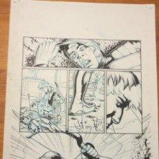 Cómics: PAGINA ORIGINAL G.I. JOE DE ATILIO ROJO ORIGINAL ORIGINAL COMIC ART PAGE. Lote 96649780