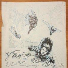 Cómics: PAGINA ORIGINAL X MEN PATRULLA X DE ATILIO ROJO ORIGINAL PAGE COMIC ART. Lote 54451572