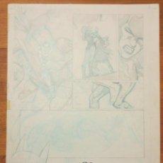 Cómics: PAGINA ORIGINAL BATGIRL DE ATILIO ROJO ORIGINAL PAGE COMIC ART. Lote 54451686