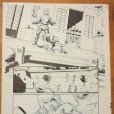 Cómics: PAGINA ORIGINAL G.I. JOE DE ATILIO ROJO ORIGINAL ORIGINAL COMIC ART PAGE. Lote 54452965