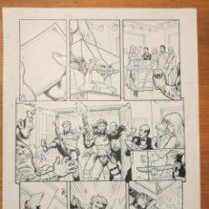 Cómics: PAGINA ORIGINAL G.I. JOE DE ATILIO ROJO ORIGINAL ORIGINAL COMIC ART PAGE. Lote 54453105