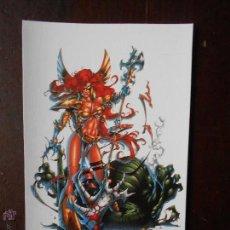 Cómics: TARJETA POSTAL ANGELA SPAWN SLAYER (7C). Lote 54489096