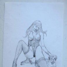 Cómics: DIBUJO ORIGINAL DE BLAS GALLEGO DRAWING ORIGINAL ART. Lote 54659419