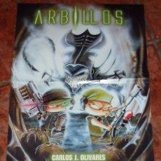 Cómics: ARBILLOS POSTER DEL COMIC . DUDE COMICS C OLIVARES , VEGAS, SUAREZ, VICENTE 52 / 33 CM . Lote 54812350