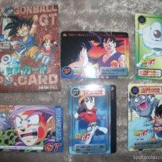 Cómics: DRAGON BALL GT, CARDS. Lote 55236454