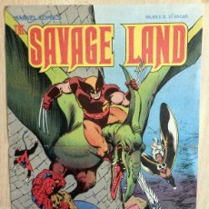 Cómics: POSTER THE SAVAGE LAND, MARVEL COMICS,235X340MM. Lote 55688235