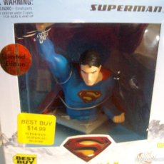 Cómics: SUPERMAN RETURNS FIGURA DC DIRECT ACTION EDICION LIMITADA BEST BUY. Lote 215852227