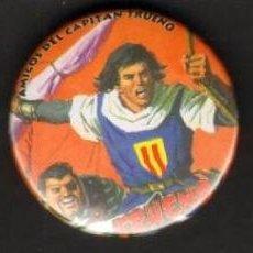 Cómics: TEBEOS-COMICS CANDY - CHAPA - PIN - LOTE DE 5 CHAPAS CAPITAN TRUENO - UNICAS Y RARAS *UU99. Lote 56973929