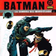 Cómics: BATMAN.LA SOMBRA DEL MURCIÉLAGO Nº 2. NORMA EDITORIAL.. Lote 57068090
