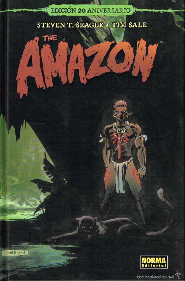 THE AMAZON.EDICIÓN 20 ANIVERSARIO.NORMA EDITORIAL (Tebeos y Comics - Comics Merchandising)