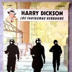 Cómics: POSTER CARTEL PUBLICITARIO PUBLICIDAD HARRY DICKSON LOS FANTASMAS VERDUGOS EDITORIAL JUVENTUD. Lote 57609554