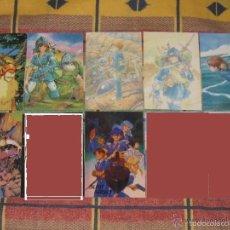 Comics : POSTALES MANGA ANIME - NAUSICAA LAPUTA TOTORO MONONOKE TOUCH SILENT MOBIUS APPLESEED BASTARD!!. Lote 56011473