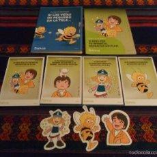 Comics - VICKIE EL VIKINGO, HEIDI Y MARCO 4 POSTAL 3 ADHESIVO PEGATINA 2 FOLLETO BANKIA. REGALO 4 FANTÁSTICOS - 119941244