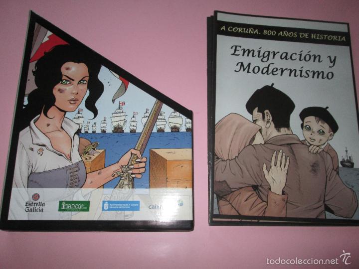 COLECCIÓN COMICS-A CORUÑA 800 AÑOS DE HISTORIA-12 FASCÍCULOS-NUEVO-VER FOTOS. (Tebeos y Comics - Comics Merchandising)