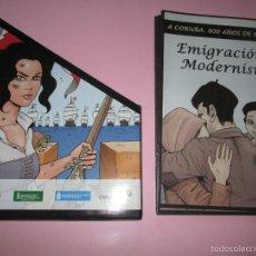 Cómics: COLECCIÓN COMICS-A CORUÑA 800 AÑOS DE HISTORIA-12 FASCÍCULOS-NUEVO-VER FOTOS.. Lote 128611018