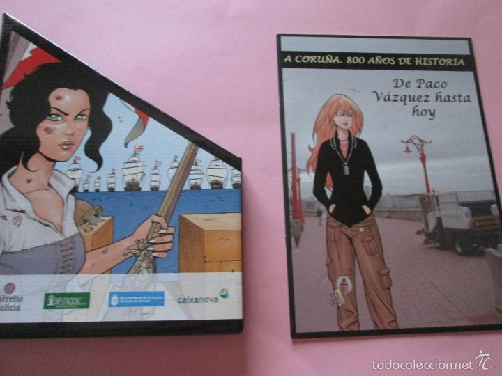 Cómics: COLECCIÓN COMICS-A CORUÑA 800 AÑOS DE HISTORIA-12 FASCÍCULOS-NUEVO-VER FOTOS. - Foto 2 - 128611018