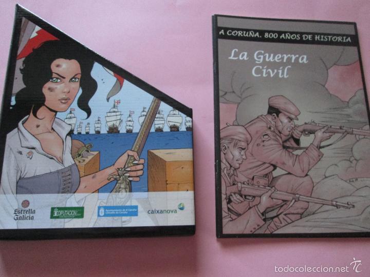 Cómics: COLECCIÓN COMICS-A CORUÑA 800 AÑOS DE HISTORIA-12 FASCÍCULOS-NUEVO-VER FOTOS. - Foto 4 - 128611018