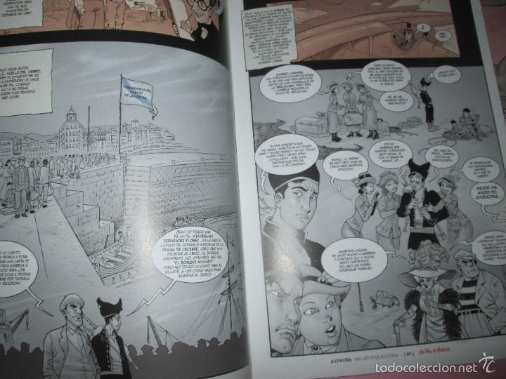 Cómics: COLECCIÓN COMICS-A CORUÑA 800 AÑOS DE HISTORIA-12 FASCÍCULOS-NUEVO-VER FOTOS. - Foto 5 - 128611018