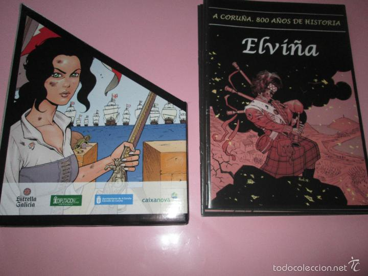 Cómics: COLECCIÓN COMICS-A CORUÑA 800 AÑOS DE HISTORIA-12 FASCÍCULOS-NUEVO-VER FOTOS. - Foto 7 - 128611018