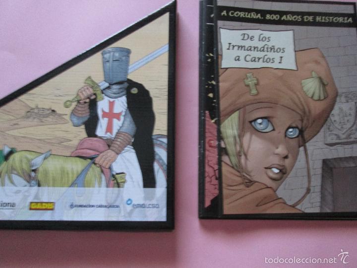 Cómics: COLECCIÓN COMICS-A CORUÑA 800 AÑOS DE HISTORIA-12 FASCÍCULOS-NUEVO-VER FOTOS. - Foto 8 - 128611018