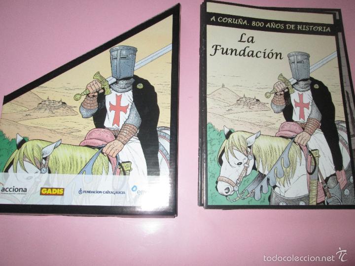Cómics: COLECCIÓN COMICS-A CORUÑA 800 AÑOS DE HISTORIA-12 FASCÍCULOS-NUEVO-VER FOTOS. - Foto 9 - 128611018