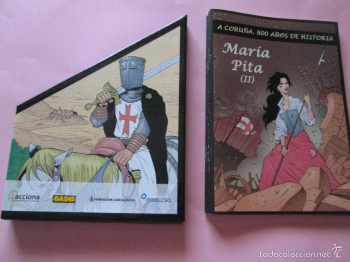 Cómics: COLECCIÓN COMICS-A CORUÑA 800 AÑOS DE HISTORIA-12 FASCÍCULOS-NUEVO-VER FOTOS. - Foto 10 - 128611018