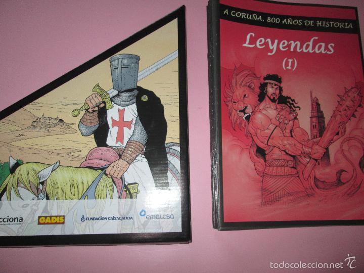 Cómics: COLECCIÓN COMICS-A CORUÑA 800 AÑOS DE HISTORIA-12 FASCÍCULOS-NUEVO-VER FOTOS. - Foto 12 - 128611018