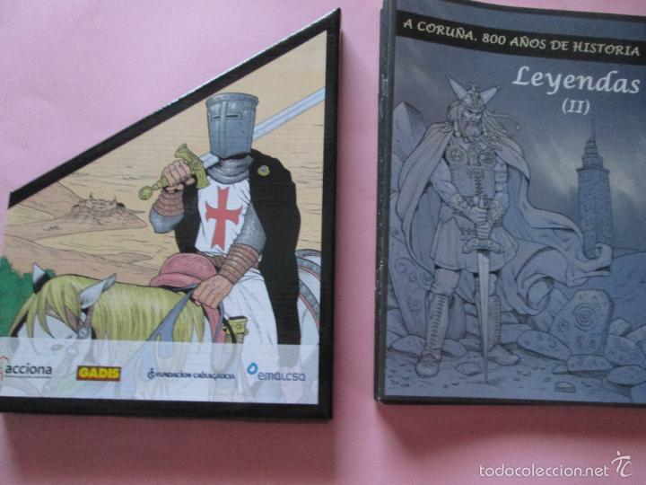 Cómics: COLECCIÓN COMICS-A CORUÑA 800 AÑOS DE HISTORIA-12 FASCÍCULOS-NUEVO-VER FOTOS. - Foto 13 - 128611018