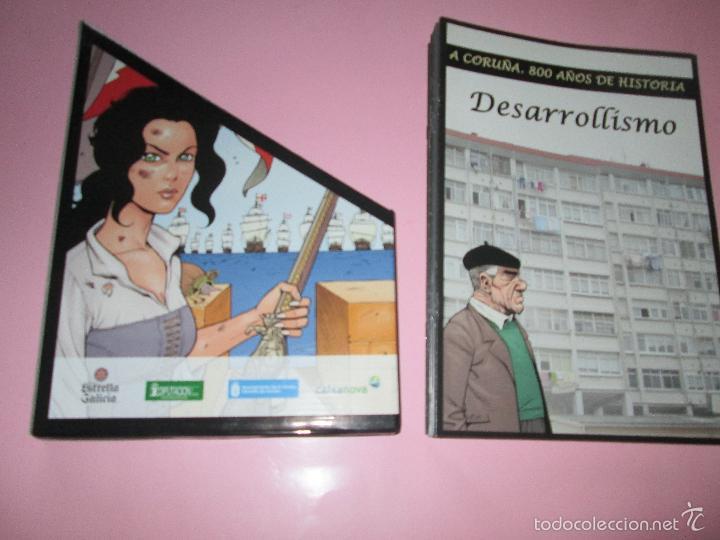 Cómics: COLECCIÓN COMICS-A CORUÑA 800 AÑOS DE HISTORIA-12 FASCÍCULOS-NUEVO-VER FOTOS. - Foto 14 - 128611018