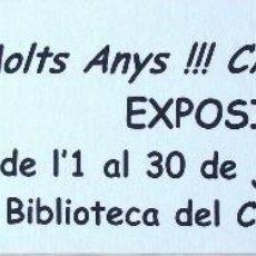 Cómics: EL CAPITÁN TRUENO MARCAPÁGINAS EXPOSICIÓN 50 ANIVERSARIO. Lote 58665486