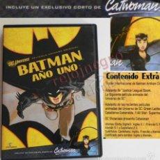 Cómics: BATMAN AÑO UNO DVD PELÍCULA DIBUJOS ANIMADOS -CON CORTO CATWOMAN PERSONAJE DE CÓMIC DC EXTRAS - ARTE. Lote 61129403