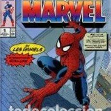 Cómics: FIVE FABULOUS DECADES OF MARVEL COMICS (ABRADALE,1991) - LES DANIELS. Lote 68482193