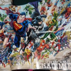 Cómics: POSTER UNIVERSO DC RENACIMIENTO SUPERMAN BATMAN GREEN LANTERN.... Lote 71853043