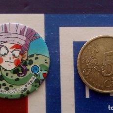 Cómics: BOLA DE DRAGON DRAGON BALL GT MEGA TAZO SMALL SIZE CAP MENKO SHOOTER TAZOS . Lote 74219563