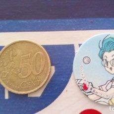 Cómics: BOLA DE DRAGON DRAGON BALL GT MEGA TAZO SMALL SIZE CAP MENKO SHOOTER TAZOS . Lote 74219571