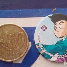 Cómics: BOLA DE DRAGON DRAGON BALL GT MEGA TAZO SMALL SIZE CAP MENKO SHOOTER TAZOS . Lote 74219579