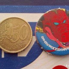 Cómics: BOLA DE DRAGON DRAGON BALL GT MEGA TAZO SMALL SIZE CAP MENKO SHOOTER TAZOS . Lote 74219647