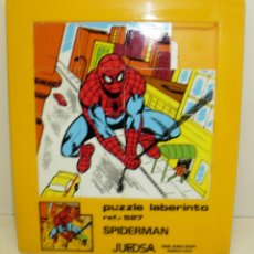 Cómics: PUZZLE LABERINTO SPIDERMAN, 20 X 17 CMTS. JUEDSA AÑOS 80. Lote 74901847