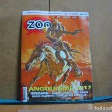 Cómics: ZOO Nº 63 - EL PRIMER MAGAZINE CULTURAL SOBRE LAS BANDES DESINÉES (COMICS) Y LAS ARTES VISUALES. Lote 75886015