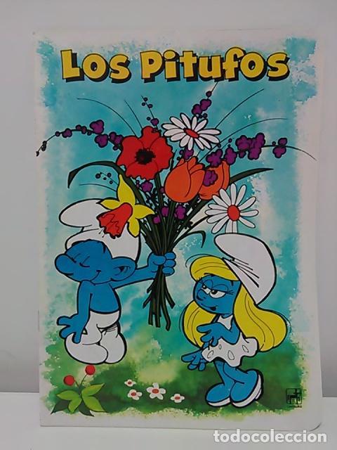Cómics: Lote de 6 libretas de Los Pitufos - Foto 2 - 79009137