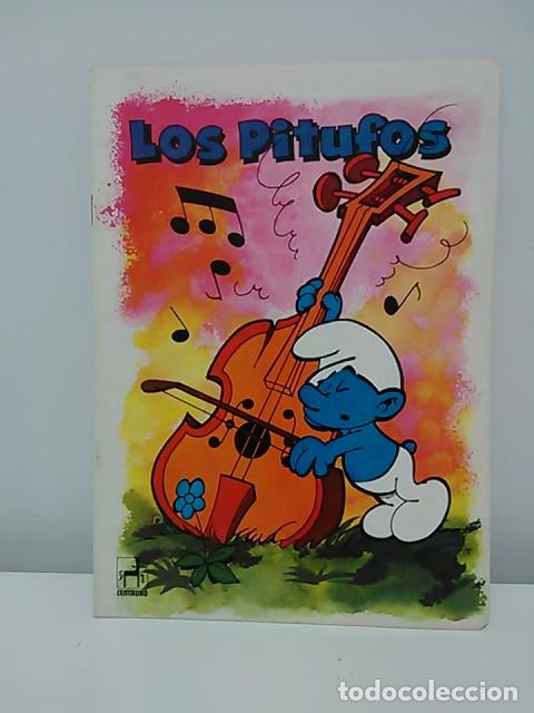 Cómics: Lote de 6 libretas de Los Pitufos - Foto 3 - 79009137