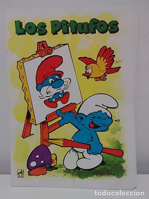 Cómics: Lote de 6 libretas de Los Pitufos - Foto 5 - 79009137