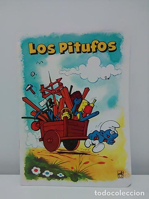 Cómics: Lote de 6 libretas de Los Pitufos - Foto 6 - 79009137