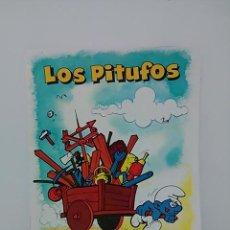 Cómics: LIBRETA DE LOS PITUFOS.. Lote 79009733